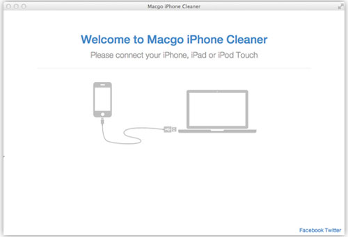 Run Macgo iPhone Cleaner on Mac